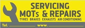Servicing Mots Repairs banner